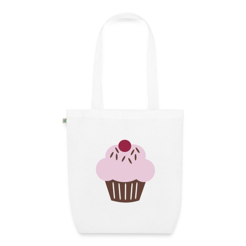 Cup Cake Organic Tote Bag - EarthPositive Tote Bag