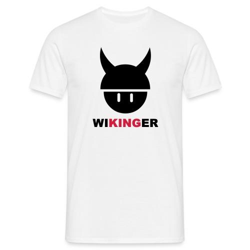 WIKINGER (Schwarz/Rot) - Männer T-Shirt