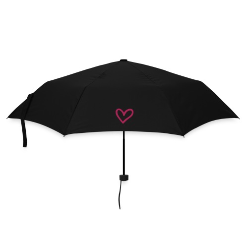 Little Pink Heart Umbrella - Umbrella (small)