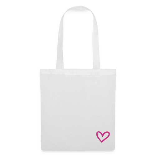 Little Pink Heart Tote Bag - Tote Bag
