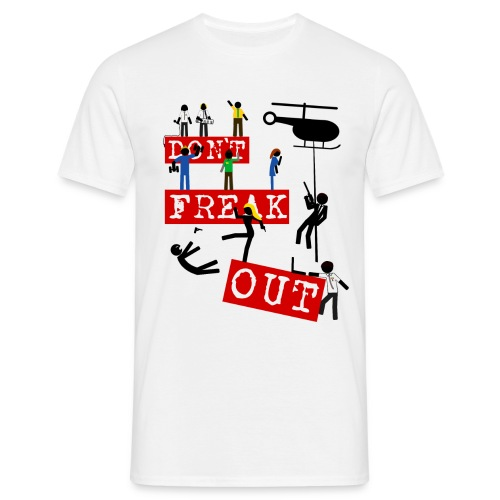 Chuck - don't freak out - Camiseta hombre