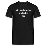 T-Shirts ~ Men's T-Shirt ~ A module to autodie for