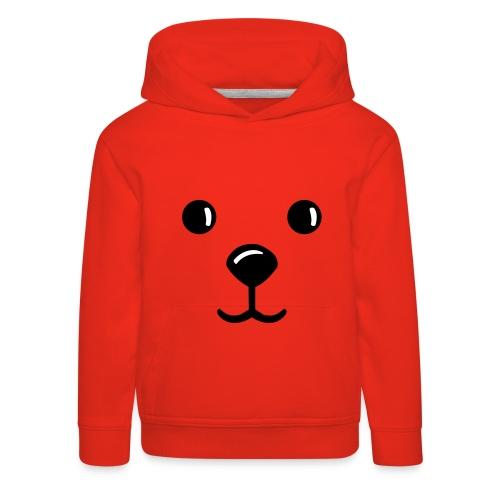Teddy-Kapuzenpullover - Kinder Premium Hoodie