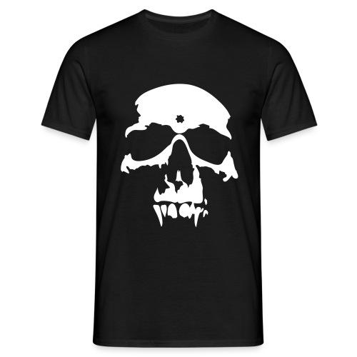Men's T-Shirt - Simple and stylish skull T