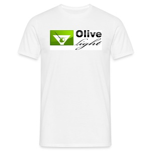 Olive light - Männer T-Shirt