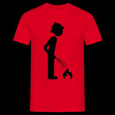 Fire Pee T-Shirts