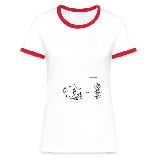Bison-Style! - Women's Ringer T-Shirt