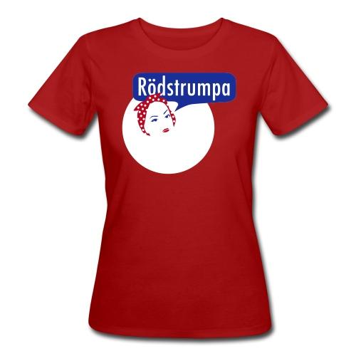 RÖDSTRUMPA 2 T-shirts - Ekologisk T-shirt dam