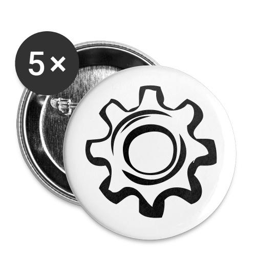 I am a legend! - Buttons large 2.2''/56 mm(5-pack)