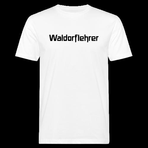 Waldorflehrer Bio Shirt - Männer Bio-T-Shirt