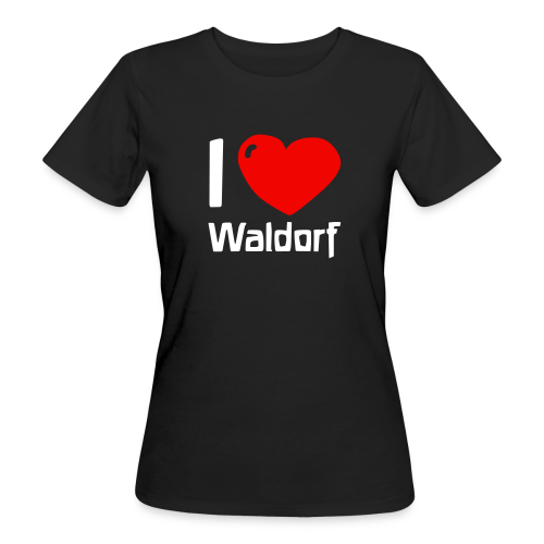 I love Waldorf Bio Shirt - Women's Organic T-Shirt