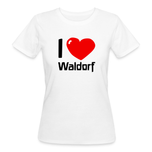 I love Waldorf Bio Shirt - Frauen Bio-T-Shirt