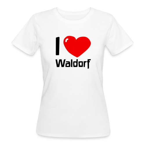 I love Waldorf Bio Shirt - Frauen Bio-T-Shirt