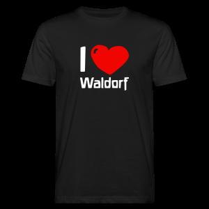 I love Waldorf Bio Shirt - Männer Bio-T-Shirt