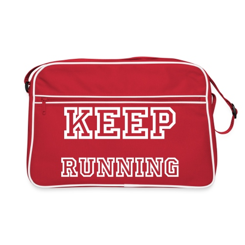 Keep Running. - Retro Bag