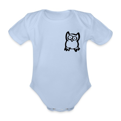 Baby Owl - Ekologisk kortärmad babybody