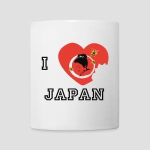 Tasse I love japon, I love japan - Mug blanc