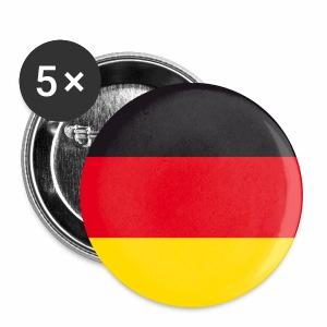 Deutschland Fahne Flagge Button Anstecker - Buttons mittel 32 mm