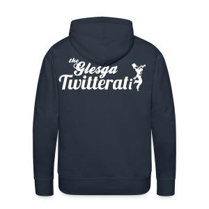 The Glesga Twitterati - Men's Premium Hoodie