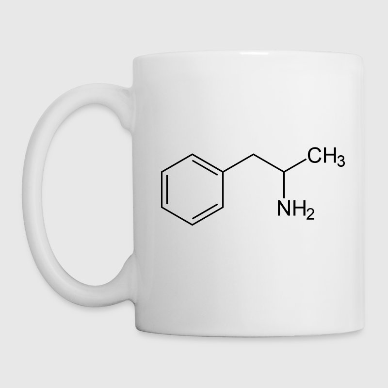 Amphetamine Speed Molecule Bottles & Mugs - Mug