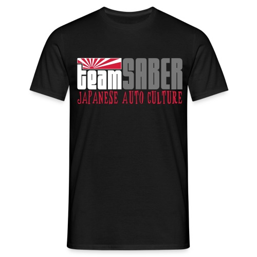 teamSABER - standard / black - Men's T-Shirt