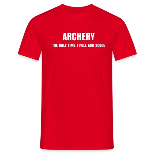 Pull and Score Archery - Men's T-Shirt