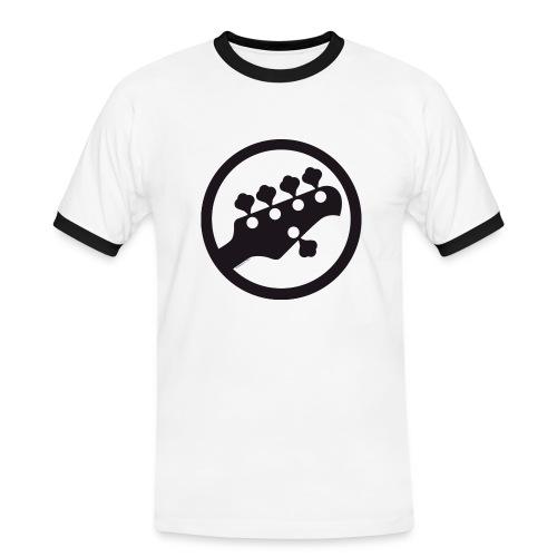five strings bass t-shirt - Maglietta Contrast da uomo