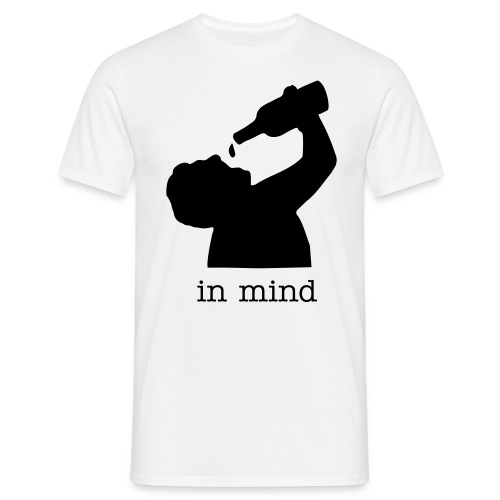 alcohol in mind - Men's T-Shirt