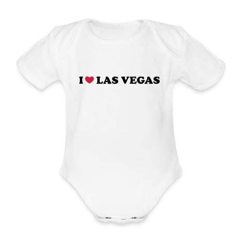 Vegas Baby - Organic Short-sleeved Baby Bodysuit