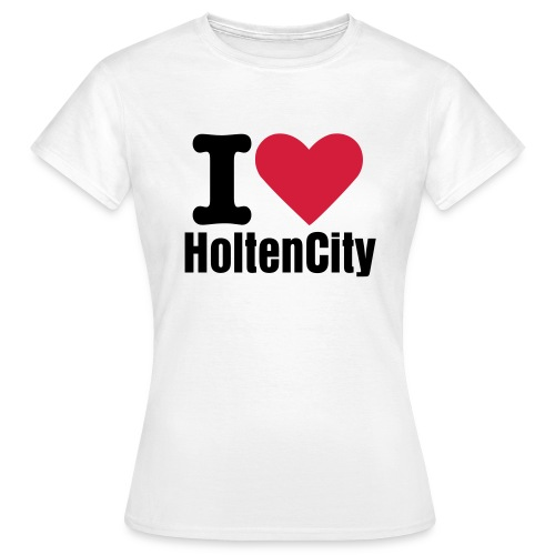 I Love HoltenCity (dames) - Vrouwen T-shirt