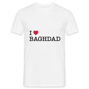 I LOVE BAGHDAD - Men's T-Shirt