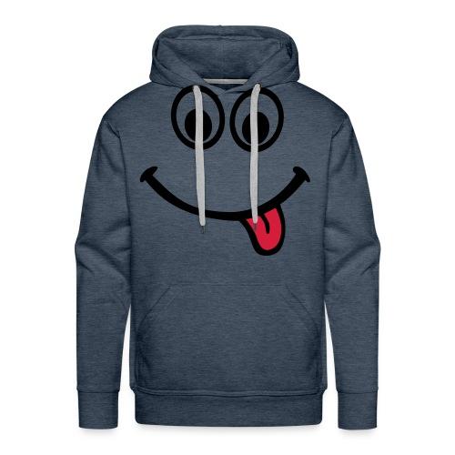 Smile Hoodie - Men's Premium Hoodie