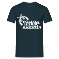 T-Shirts ~ Men's T-Shirt ~ Pollok Stock