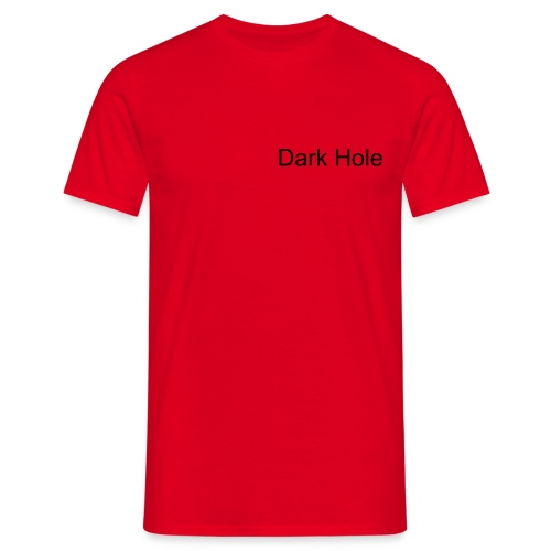 DH Red shirt - Mannen T-shirt