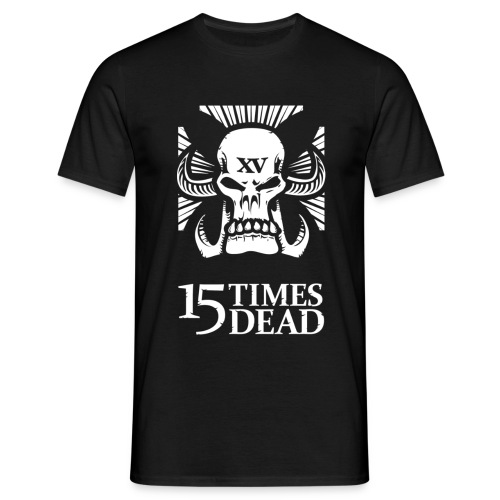 15 Times Dead Girth Metal Mafia Tee - Men's T-Shirt
