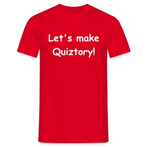 Let's Make Quiztory - T-shirt - Men's T-Shirt