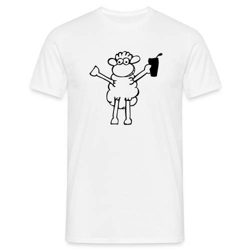 Pross Schaf! - Männer T-Shirt
