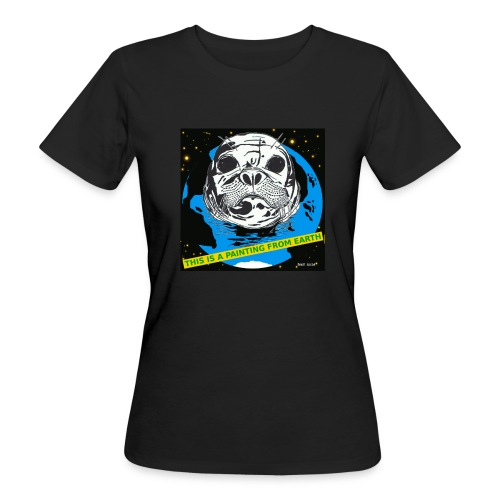 biologischzeehond T-shirt voor dames. - Vrouwen Bio-T-shirt