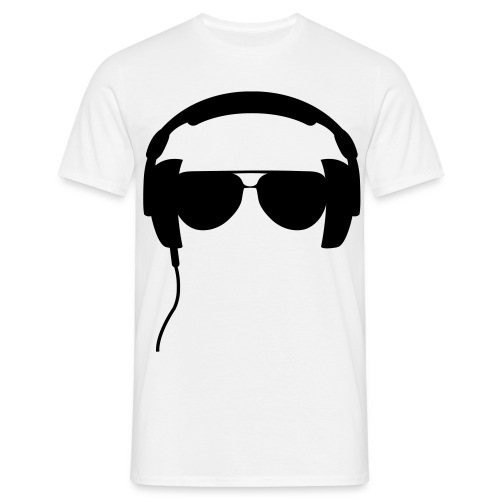 casque lunette - T-shirt Homme