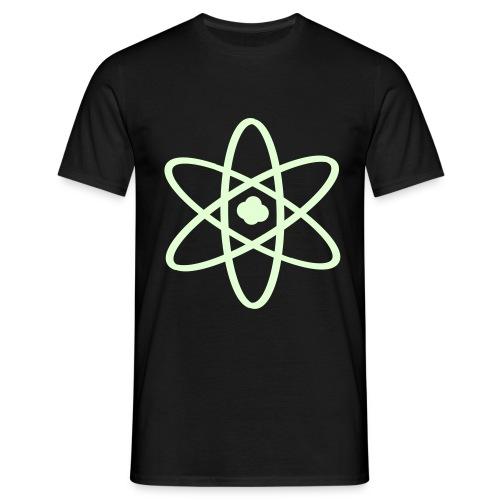 Atomize (Luminous) - Men's T-Shirt