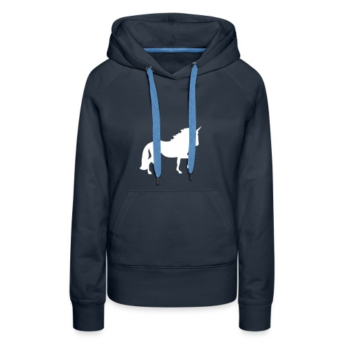 Unicorn Rainbow Jumping Team - Women's Premium Hoodie