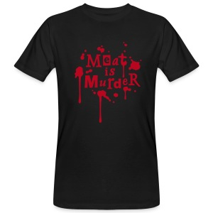 Mens BIO Shirt 'Meat is Murder' - Männer Bio-T-Shirt