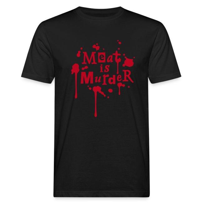 Mens BIO Shirt 'Meat is Murder'
