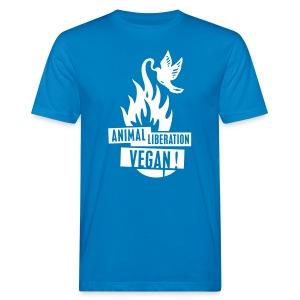 Mens BIO 'animal liberation vegan' B - Männer Bio-T-Shirt