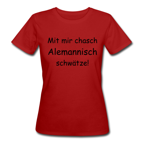 Fraue-T-Shirt - Frauen Bio-T-Shirt