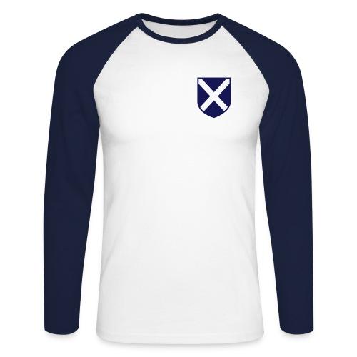 Scotland in my Heart - Men's Long Sleeve Baseball T-Shirt