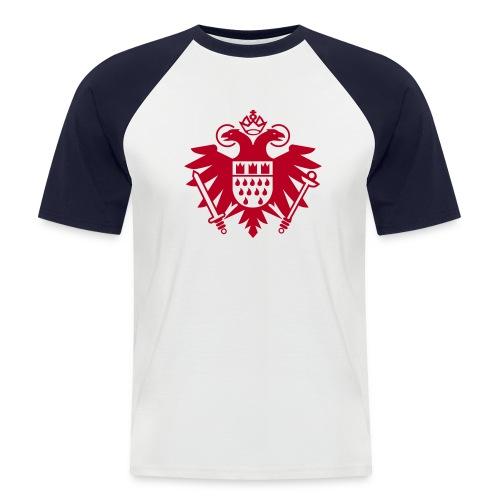 Köln Wappen - Männer Baseball-T-Shirt