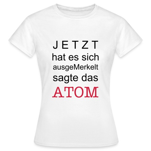 WET PAINT - WENDEZEIT 1 - Frauen T-Shirt