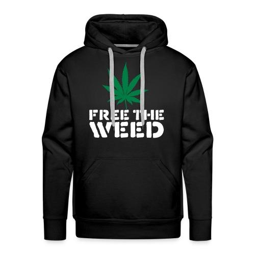 Free the weed - Men's Premium Hoodie