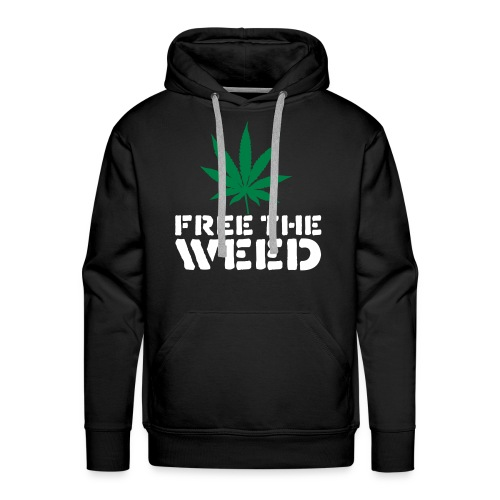 Free the weed - Men's Premium Hoodie